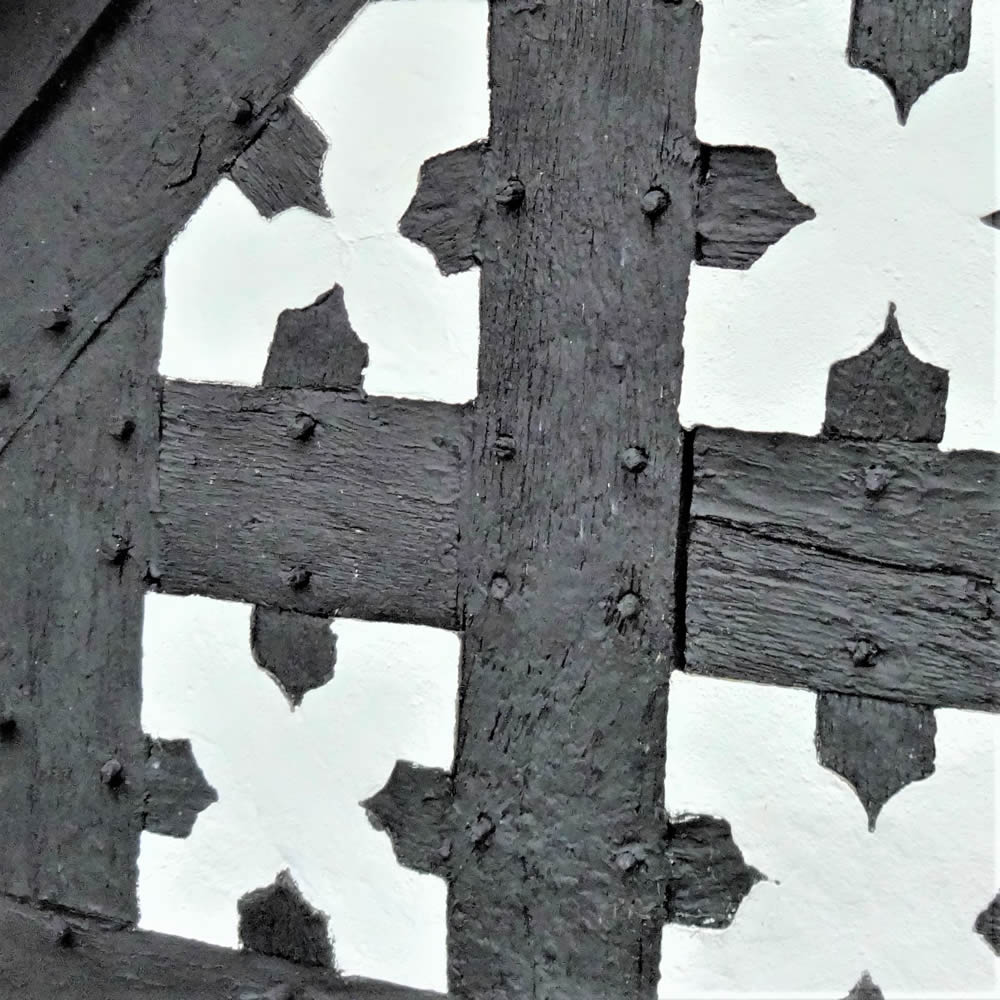 Cheshire timber frame pattern square