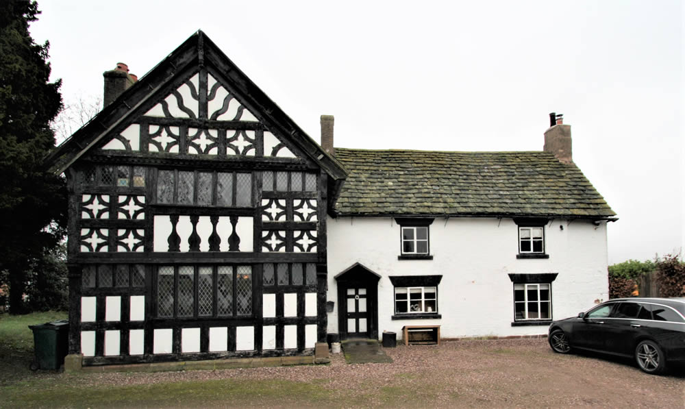 Listed Building near Chester Surveyed by Nicholson Price Assoiates
