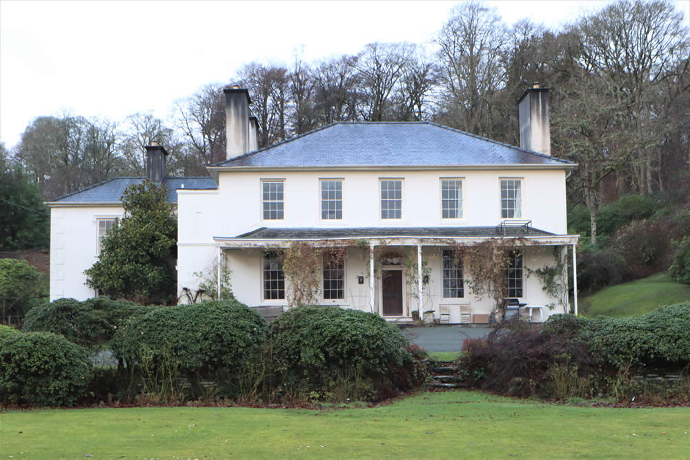 Fron Heulog Grade II listed house in North Wales.