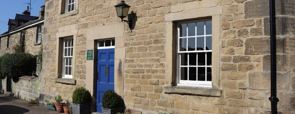 Stone Fronted House in Derbyshire