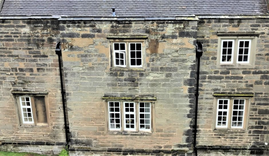 Stone terraced house in Derbyshire